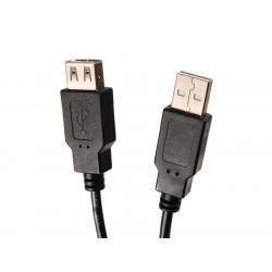 Kabel USB 2.0 gniazdo-wtyk 5m Maclean MCTV-745