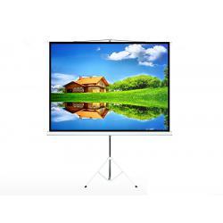 "Ekran projekcyjny Maclean MC-680 na stojaku 112"" 1:1 200*200"