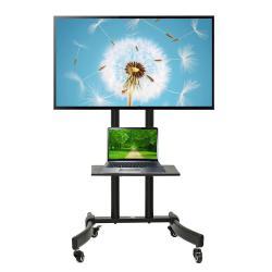 Profesjonalny stand wózek do telewizora na kółkach Maclean MC-739 max 40kg max 32-65'
