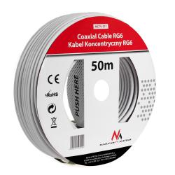 Kabel koncentryczny 1.0CCS RG6 50M  MCTV-571