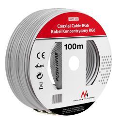 Kabel koncentryczny 1.0CCS RG6 100M  MCTV-572