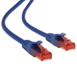 Przewód kabel patchcord UTP cat6 wtyk-wtyk 1m niebieski Maclean MCTV-301 N