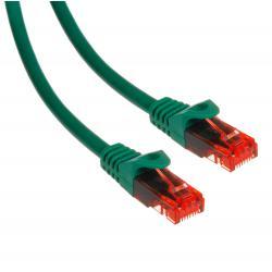 Przewód kabel patchcord UTP cat6 wtyk-wtyk 1m zielony Maclean MCTV-301 G