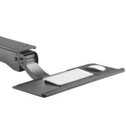 Uchwyt na klawiaturę podbiurkowy regulowany MC-795 do pracy stojąco - siedzącej max zmiana 34cm
